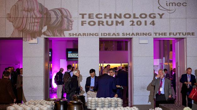 Das zweitägiges IMEC Technology-Forum fand im Konferenzzentrum The Square im Zentrum Brüssels statt.