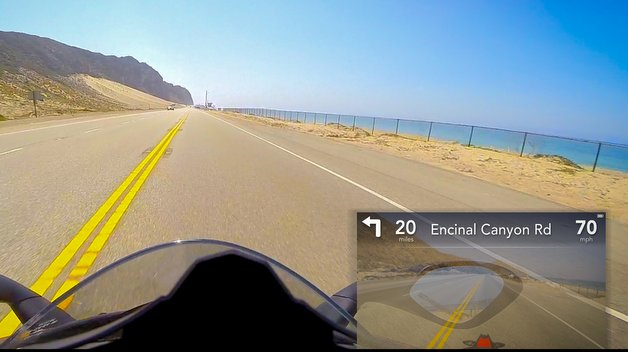 continental motorradhelm mit head up display elektronik. Black Bedroom Furniture Sets. Home Design Ideas