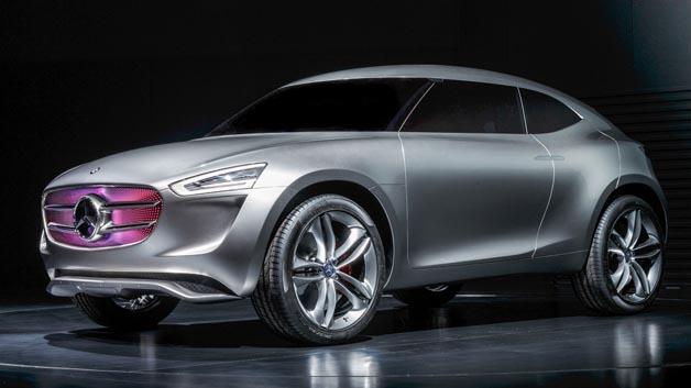 Futuristisches SUC für den chinesischen Markt: Mercedes-Benz G-Code.