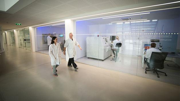 Die offene Architektur der neuen Recom-Zentrale soll die offene Kommunikation fördern.