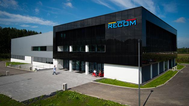 Die neue Recom-Zentrale steht in Gmunden im Salzkammergut.