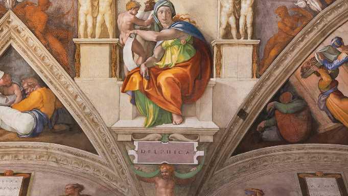 Fresken in der Sixtinischen Kapelle - mit der neuen LED-Lichtlösung von Osram