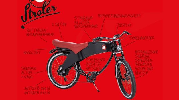 lohner stroler e bike oder moped elektronik automotive. Black Bedroom Furniture Sets. Home Design Ideas