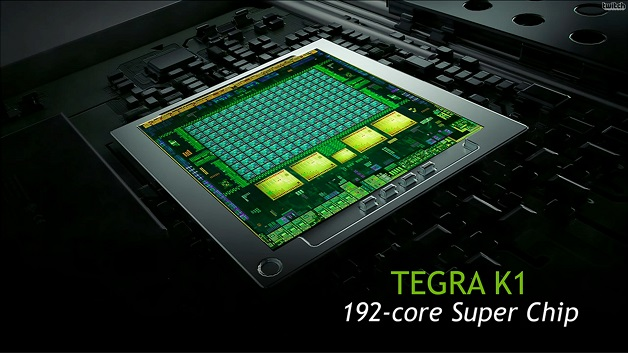 High-End-Mobilprozessor: Mit eigenem CPU-Design an die Spitze. Der Tegra-K1-64 ist für Tablets, High-End-Smartphones und Dashboard-Systeme im Automobil ausgelegt. Nvidias erstes eigenes CPU-Design mit dem Codenamen Denver ist ARMv8-kompatibel und liefert seine hohe Rechenleistung durch eine ungewöhnliche Technik: eine dynamische Befehls-Übersetzung, mit welcher ARM-Instruktionen in Mikro-Ops übersetzt werden.  Damit brauchen nur häufig verwendete Routinen übersetzt zu werden, was zu einer Verringerung des Overheads durch die Übersetzung führt.  Das Ergebnis: Diese 64-bit-CPU übertrifft nicht nur alle anderen ARM-basierenden SoCs, sondern kann sogar mit Low-End-Versionen von Intels aktuellen Haswell-CPUs mithalten.
