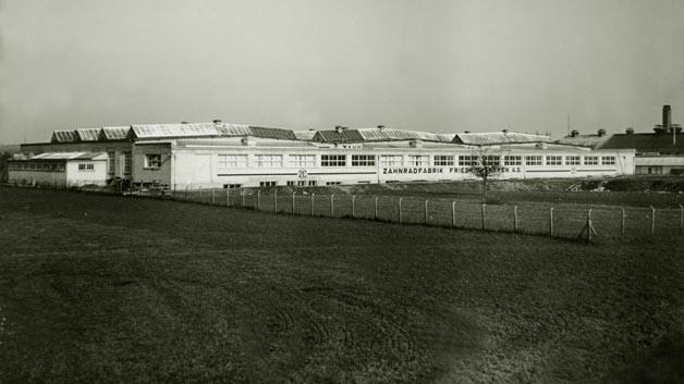 1934 wurde die Halle 2 des ZF-Werkes in Friedrichshafen errichtet.
