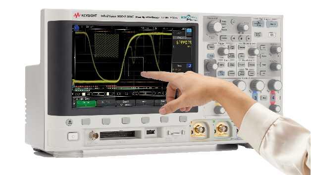 Die 3000T-X-Serie wurde speziell für die Bedienung über einen kapazitiven Touchscreen und für die intuitive, schnelle Auswahl von Signalbereichen und Funktionen entwickelt