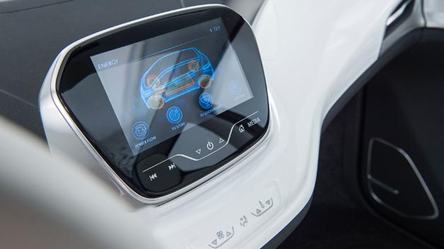 Via Bolt EV Connect lässt sich beispielsweise der Ladezustand anzeigen.