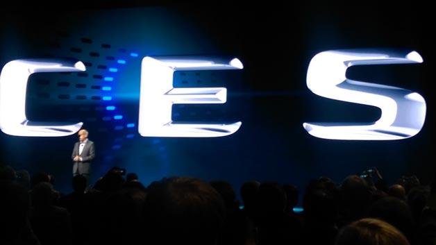 Daimler-Boss Dieter Zetsche interpretierte seine zentralen Modell- Klassen passend zur CES.