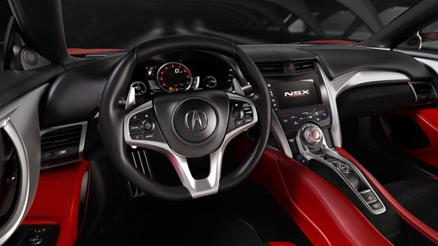 Sportliches Cockpit. Hinter dem Lenkrad verbirgt sich das TFT-Display, das sich den vier wählbaren Fahrmodi anpasst.
