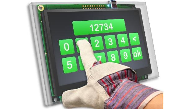Auf der embedded world zeigt Noritake Europa (Halle 1, Stand 169) ein metallisiertes kapazitives Touch-Display, das laut Hersteller weder durch unterschiedliche Arten von Handschuhen noch durch Wasserspritzer oder feuchte Umgebung und ohne Rekalibrierung einwandfrei funktioniert. Diese Technologie arbeitet mit einem Luftspalt von bis zu 0,5 mm ohne nötiges Bonding von TFT-Panel zur Frontscheibe. Eine präzise Bedienung auch mit einer 4 mm dicken Plastik- oder einer 8 mm dicken Glas-Frontscheibe sei garantiert.