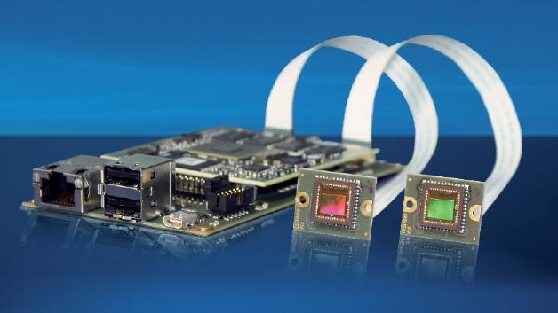 Auf der embedded world zeigt Vision Components (Halle 1, Stand 109) die »intelligenten« Kameras der »VC-F«-Serie, die speziell für den Einsatz in »intelligenten« Verkehrssystemen (z.B. automatische Nummerschilderkennung) konzipiert sind. Sie eignen sich aber auch für zahlreiche andere Anwendungen, wie etwa Prüf- und Messaufgaben in der Qualitätssicherung und Fertigungskontrolle. Basis der neuen Baureihe ist ein Quad-Core-Prozessor von Freescale mit 4 x 1 GHz. Die Systeme, bei denen auch der Grafikprozessor frei programmiert werden kann, arbeiten mit dem Betriebssystem »VC Linux«.
