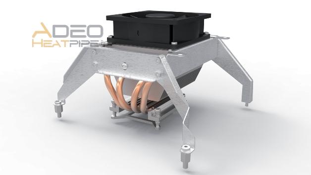 Spezifische Lösungen für die Kühlung von Embedded-Systemen bietet Adeo Heatpipe (Halle 2, Stand 308) an. Mögliche Designvarianten werden mit Hilfe von CFD-Software simuliert; bei der Fertigung sind sowohl kleine als auch große Stückzahlen möglich. So sind auch Anwendungen im Automobilbereich möglich