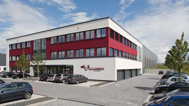 Das neue Büro- und Logistik-Gebäude  von Gudeco in Neu-Anspach.