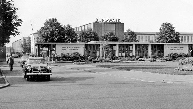 Die ehemalige Borgward Pförtnerei