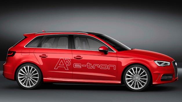 Von Audis A3 E-Tron kamen 2014 460 Modelle neu auf die Straße. Dafür gab es Platz 10.