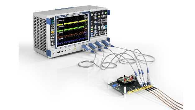 Neue R&S-RTO-Option für automatisierte MIPI-D-PHY-Konformitätstests an Komponenten für Smartphones und mobile Endgeräte mit MIPI-D-PHY-Implementierung