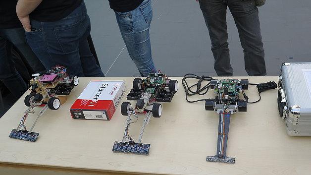 Alle Fahrzeugen basierten mehr oder minder auf der gleichen Hardware, die Software war der entscheidende Faktor, der zum Erfolg oder eben auch Misserfolg führte.
