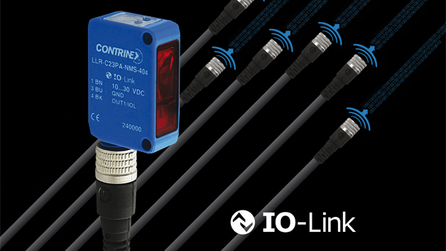 Die photoelektrischen Sensoren der Baureihe C23 von Contrinex umfassen Lichtschranken und Lichttaster mit oder ohne Hintergrundausblendung, energetische Reflex-Lichttaster sowie Einweglichtschranken. Sie kombinieren eine reduzierte Baugröße (20 x 30 x 10 mm) mit einem großen Erfassungsbereich und erkennen auch sich schnell bewegende Objekte zuverlässig. Ein typischer Einsatzbereich sind Transportbänder in der Produktion oder die automatische Verpackung von Lebensmitteln. Die PNP-schaltenden photoelektrischen Sensoren der Serie verfügen dank der IO-Link-Schnittstelle über die Fähigkeit, aus der Ferne mit der übergeordneten Steuerungsebene kommunizieren zu können. Dabei sind die IO-Link-Sensoren kompatibel mit sämtlichen IO-Link-Masterversionen.