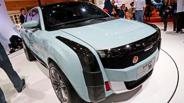 Mit dem 2 SUV PHEV Concept zeigt Qoros auf der Auto Shangahi sein erstes Plug-in-Hybrid-Konzeptfahrzeug.