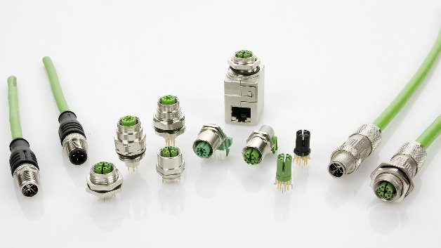 Datenübertragungsraten bis zu 10GBit/s (Cat. 6A bei bis zu 500MHz Bandbreite) lassen sich mit den X-kodierten 4-paarigen M12-Steckverbindungen von Metz Connect realisieren. Dank der mechanischen und elektrischen Festigkeit und der 360°-Schirmung durch ein robustes Zinkdruckgussgehäuse sind die Verbindungen insbesondere für Anwendungen im industriellen Bereich geeignet. Im gesteckten Zustand sind die M12-Verbindungen schmutz- und feuchtigkeitsresistent nach Schutzklasse IP67. Die vergossenen X- und D-kodierten Leiterplattenbuchsen besitzen auch im nicht gesteckten Zustand Schutz nach IP67.