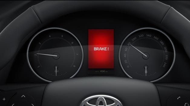 Um den kürzest möglichen Bremsweg zu erzielen wird dazu bereits der Bremsassistent aktiviert.