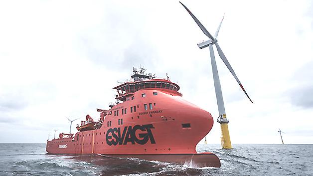 ((Ein Schiffsname mit Tradition: Unter dem Namen Faraday stellte bereits William Siemens im Jahr 1834 ein Kabelverlegeschiff in Dienst.))