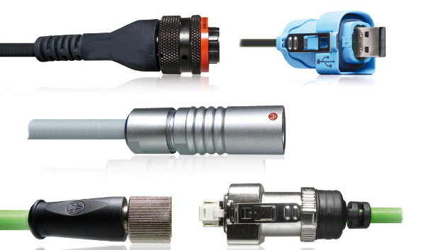 Kabelkonfektionen made by Yamaichi Electronics: Das Unternehmen ist derzeit der  einzige Anbieter am Markt, der komplette Kabelkonfektionen sowohl mit eigenen M12- und RJ45-Steckern sowie eigenen Push-Pull-Steckverbindern aus einer Hand anbieten kann.