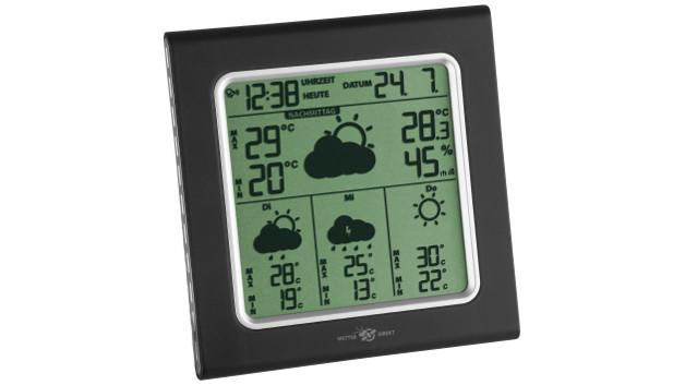 Satellitengestützte Funk-Wetterstation