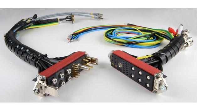 Multi-Contact liefert konfektionierte Steckverbinder mit Anschlusskabeln als komplett geprüfte Baugruppe.