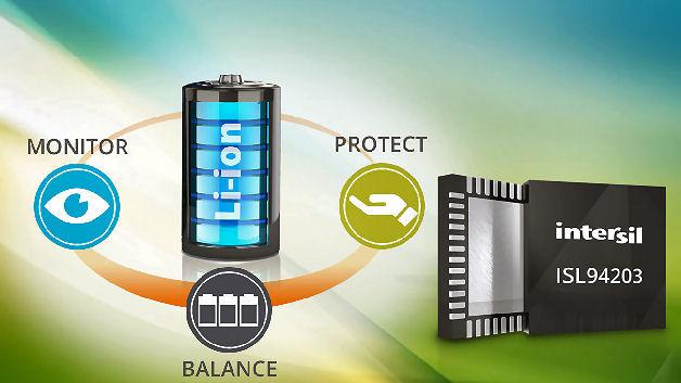 batterie management ic berwacht akkus mit max acht li. Black Bedroom Furniture Sets. Home Design Ideas