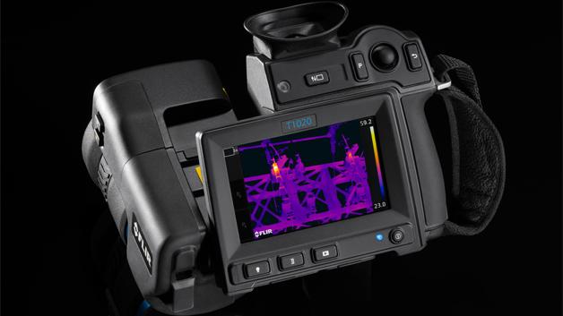 FLIR stellt die neue Premium-Wärmebildkamera T1020 vor, ...