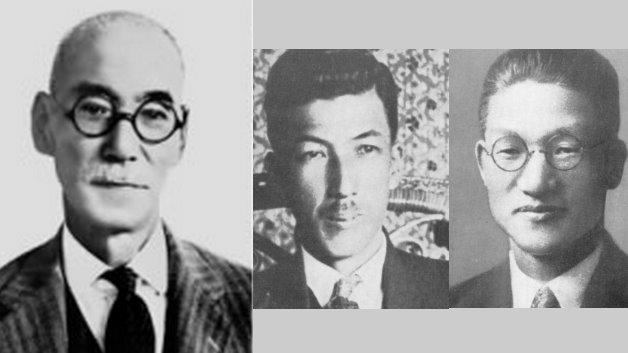 1915: Dr. Tamisuke Yokogawa (l.), Architekt und Bauingenieur, gründet zusammen mit seinem Neffen Ichiro Yokogawa (m.) und dem 26-jährigen Shin Aoki (r.) ein Forschungsinstitut für Stromzähler im japanischen Shibuya. Ziel der Pioniere ist es, Japans erster Hersteller von Stromzählern zu werden. Für das kleine Team hat Tamisuke Yokogawa eine klare Anweisung: »Macht Euch keine Gedanken über Gewinne und Profit. Lernt und verbessert unsere Technologie. Ihr müsst Produkte entwickeln, die uns den Respekt unserer Kunden einbringen.« Tamisuke Yokogawa stirbt im Jahr 1945.