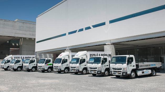An dem Praxistest in Portugal wurden 8 Fahrzeuge geprüft.
