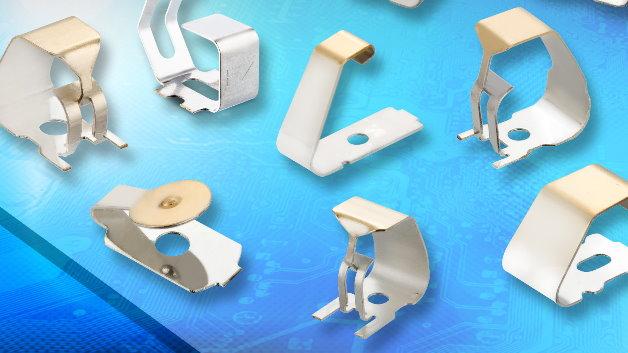 Ein neu konzipierter Leiterplattenklassiker sind die innovativen EMV-Federkontakte. Die speziell für die automatische Bestückung von Leiterplatten konzipierten Spring Contacts erhöhen die Flexibilität beim Design: Sie  können als Erdungs- oder Schirmungskontakte eingesetzt werden, oder sogar für den normalen elektrischen Anschluss zwischen Leiterplatten oder ähnlichen Baugruppen dienen. Die Federkontakte sind im Blistergurt auf Rolle verpackt und eignen sich somit in idealer Weise für die automatische Bestückung. Neben Federkontakten in C- und Box-Ausführung bietet Harwin neuerdings auch Multi-Direktional-Kontakte an, die sowohl von oben als auch von der Seite kontaktiert werden können!