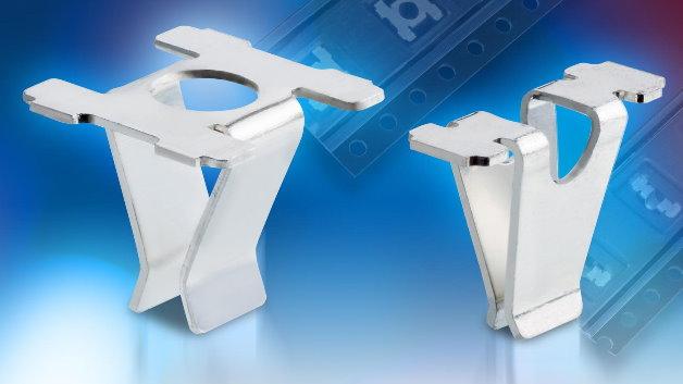Als eine kostenreduzierte Alternative zu gedrehten Leiterplattenbuchsen bietet Harwin spezielle PCB-Sockets an, die sich für die automatische Oberflächenmontage eignen. Sie sind speziell für Baugruppen konzipiert, die in mittleren und großen Volumen gefertigt werden und nicht so hohe Ansprüche an die Belastbarkeit stellen. Typische Applikationen sind zum Beispiel Wireless-Sicherheitssysteme, Rauchmelder und elektronische Schalter. Für eine sichere Verbindung sorgt das 2-Punkt-Kontaktsystem. Erhältlich sind die PCB-Sockets in  zwei Baugrößen, für die Aufnahme von Kontaktstiften mit einem Durchmesser von 0,8 mm bis 1,8 mm.