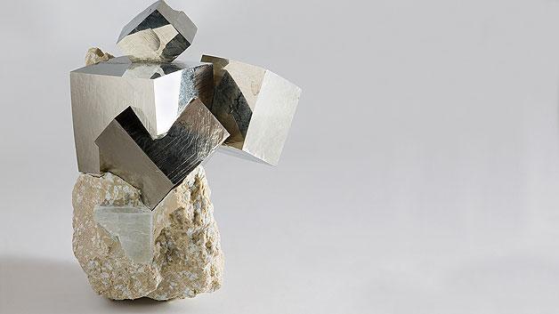Pyrit wird auch Narrengold oder Katzengold genannt und wird nun als Kathoden-Material verwendet.