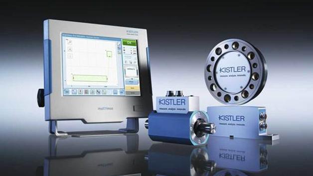 Kistler präsentiert auf der SPS in Halle 4A/Stand 526 unter anderem den neuen KiTorq 4550A. Der Drehmomentsensor mit Winkelerfassung erlaubt die Ermittlung von Drehmoment, Drehzahl und Drehwinkel mit einer anpassbaren Anzahl von Impulsen pro Umdrehung bis zu 8192 Impulse pro Umdrehung. Das Messflanschsystem besteht aus einem Messkörper, dem KiTorq Rotor und dem KiTorq Stator. Daneben wird auch der 4503B vorgestellt. Dieser misst Drehzahl und Winkel magnetisch und kann dadurch in schmutzigen industriellen Umgebungen wie zum Beispiel bei Ölnebel eingesetzt werden. Der Sensor misst Drehmomente zwischen 0,2 und 5000 Nm.