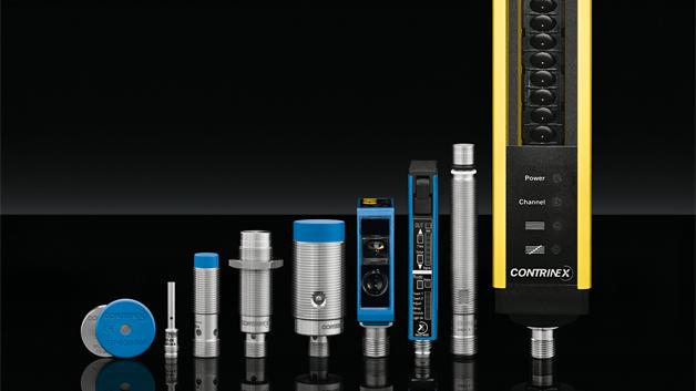 Sensorik für Industrie 4.0 ist das große Thema des Messeauftritts der Contrinex Sensor GmbH. Zu den Highlights, die der Sensorikspezialist in Halle 7A, Stand 406 zeigt, zählen daher vor allem Sensoren mit IO-Link-Funktionen – darunter optische und induktive Sensoren sowie RFID-Schreib-Lese-Module. Außerdem gezeigt werden Hochtemperatur-RFID-Tags und neue Typ 2 Sicherheitslichtgitter in einem extra schlanken Gehäuse. Sensoren bei Contrinex sind mit selbst entwickelten ASICs ausgerüstet und verfügen zusätzlich über einen IO-Link-Anschluss. Die hohe Integrationsdichte ermöglicht hohe Freiheitsgrade beim Formfaktor des Sensors. Außerdem ermöglicht das ASIC mit dem IO-Link-Interface eine automatische Kalibrierung des Sensors in der Produktion.