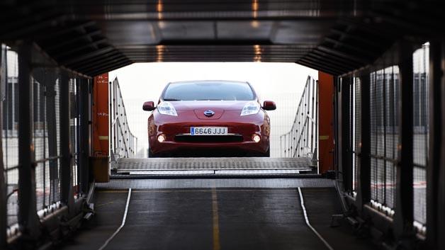 Auf Platz 12 stromerte Nissan. Der Hersteller des meistverkauftesten Elektroautos Leaf erreichte Platz 12.