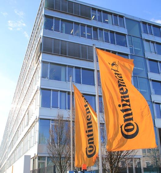 Unter den Top 50 befindet sich auch Continental: 1,6 Prozent der Befragten wollen für den Zulieferer arbeiten.