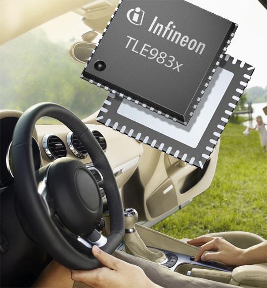 Automotive ist für Infineon ein wichtiges Anwendungsgebiet. Zum deutschen Halbleiterhersteller würden 0,7 Prozent gehen. Damit landen die Münchner auf Platz 81.