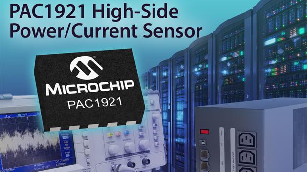 Kennziffer 000: Microchip Technologys PAC1921 ist ein Stromsensor mit analogem und digitalem Ausgang. Der analoge Ausgang kann konfiguriert werden, um Leistung, Strom oder Spannung mit minimaler Latenz auszugeben. Simultan können alle Ausgangsdaten über den digitalen Bus ausgelesen werden, der mit I2C kompatibel ist. Der PAC1921 ist in einem 3 × 3 mm2 großen VDFN-Gehäuse erhältlich. Der analoge Ausgang kann auch für die Verwendung mit Mikrocontrollereingängen für 3 V, 2 V, 1,5 V oder 1 V eingerichtet werden.