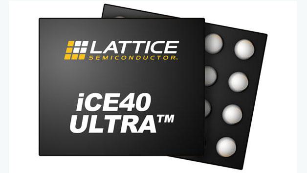 FPGA-Bausteine: Verbesserte Bedienfunktionen  Die neuen iCE40-UltraLite-FPGAs gibt es bei Lattice Semiconductor in zwei Ausführungen: eine mit 640 und eine mit 1248 LUTs; ansonsten sind die Spezifikationen identisch. FPGAs speichern ihre Konfigurationsdaten in internem SRAM, was normalerweise bedeutet, dass das FPGA die Konfiguration bei jedem Neustart neu laden muss. Die UltraLite-Chips beinhalten dagegen einen nichtflüchtigen Konfigurationsspeicher (NVCM), sodass das FPGA sich beim Einschalten selbst konfigurieren kann. Der NVCM beseitigt die Notwendigkeit eines externen Konfigurationsspeichers; dazu ist die Programmierung des NVCM in der Fabrik sicherer als der Download der Konfigurationsdaten von einem Host. Jedes UltraLite-FPGA beinhaltet 56 Kbit (7 KB) Embedded-Block-RAM. Designer können darin Werte speichern und sie durch die LUTs leiten, um neue Werte zu berechnen.