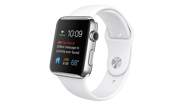 Eine Apple Watch Sport von der Firma Mouser gestiftet.