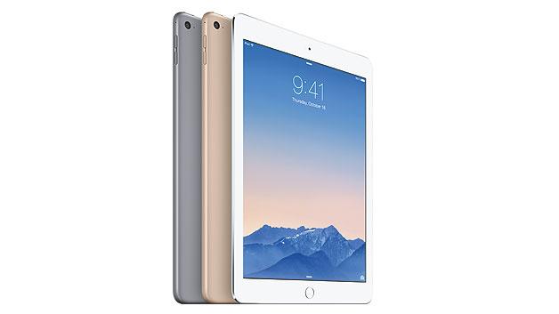 Das iPad Air 2 mit 3up-Lockscreen wird gestiftet von Teledyne-LeCroy.