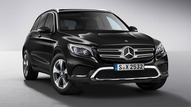 In der Klasse Kompakt-SUV überzeugte der Mercedes-Benz GLC (Modell 220d 4MATIC 'Exclusive')