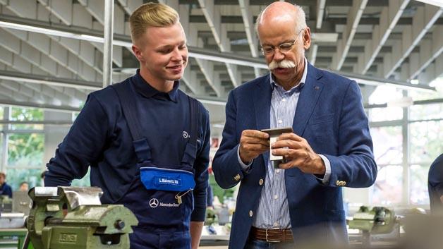 Platz 86: Dieter Zetsche ist 2006 Vorstandsvorsitzender der Daimler AG.
