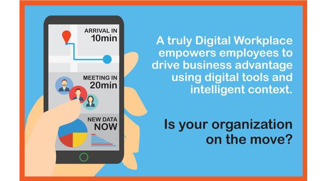 Ein echter digitaler Arbeitsplatz hilft Angestellten, Geschäftsangelegenheiten mithilfe digitaler Werkzeuge voranzubringen.