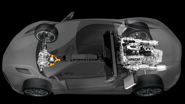 Drei Elektromotoren sorgen für zusätzlichen Schub und Lenkpräzision.