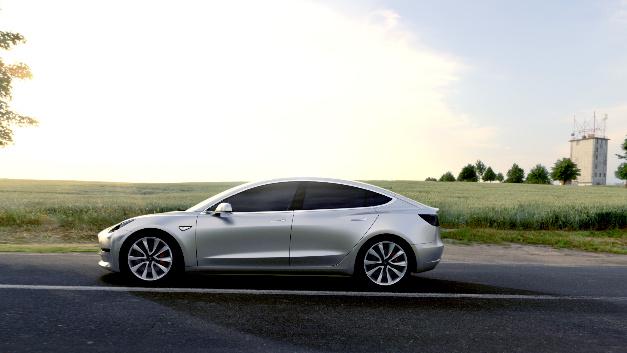 <p>Model 3 in Silber</p>